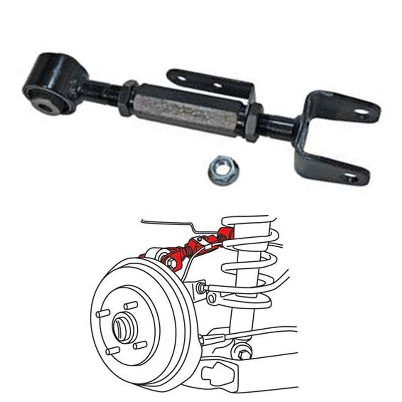 SPC EZ XR Adjustable Rear Camber Control Arm for 06-14 Honda Ridgeline PAIR