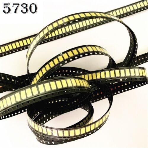 5730 5630 SMD LED Strip CW-WW White/ Warm White 50-55lm 150mA 5730 diode 0.5W