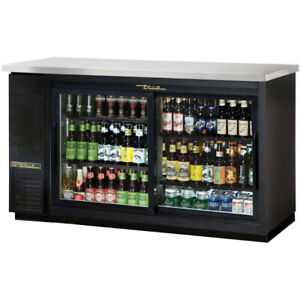WANTED: Back bar cooler / fridge with sliding doors