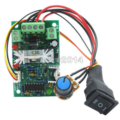10-36v Dc Motor Speed Controller Reversible Pwm Control Forward Reverse Switch