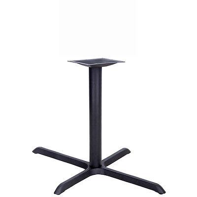 22 X 30 Restaurant Table X-base With 3 Dia. Table Height Column