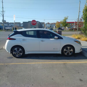 2018 NISSAN LEAF SV- New Cond., Low KMs