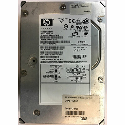 HP 146GB, 15K RPM, SCSI, U320 68 pin, Seagate version - 365563-001