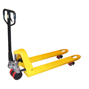 27 x 48 pallet jack with 5,500 capcity, pump truck hand truck
