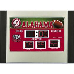 Alabama Crimson Tide NCAA Scoreboard Desk Clock - Roll Tide Free Ship