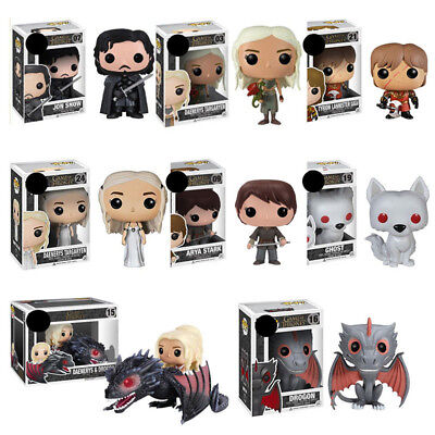 Games Of Halloween (Game Of Thrones Jon Snow Action Daenerys Figure toys Collection Halloween)