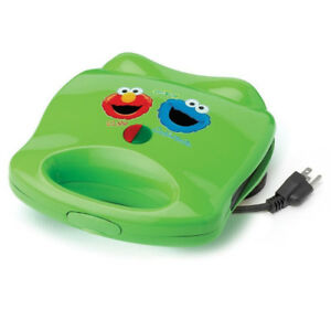 Sesame Street Elmo/Cookie Monster Electric Sandwich Maker