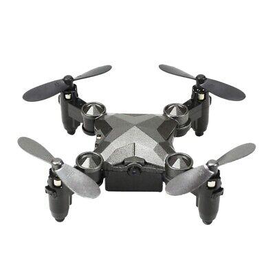 Drones Rc con CáMara Mini Giroscopio de Canal Plegable Aviones y Relojes A2M5
