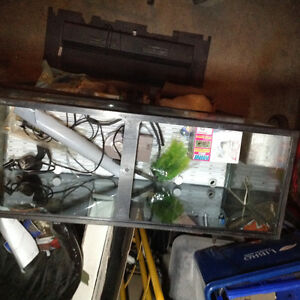 38gal. Tank With stand and canopy,accessories London Ontario image 2