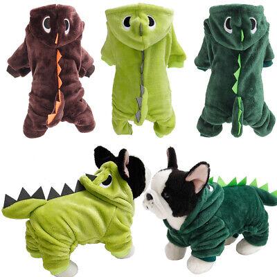 Hunde Halloween Kostüm Haustier Kleidung Dinosaurier Hund Kapuzenpullover (Kostüm Haustier)