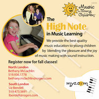 Parent and Child Music Lessons
