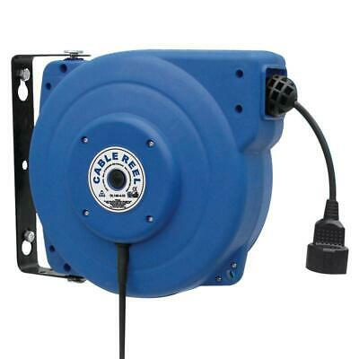 Automático Enrollador de Cable Tambor de Cable Eléctrico 15M Bobinador