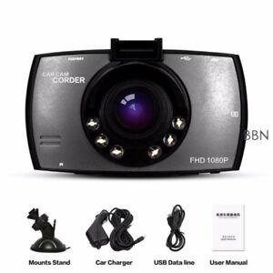FHD 1080P In Car Vehicle Dual Lens Dashboard IR Camera Video Rec