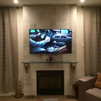 Professional TV Wall Mounting. 10 years experience. 416-700-6001
