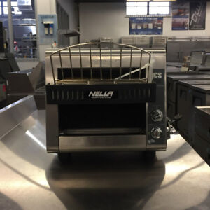 Nella - Commercial Conveyor Toaster - 350 Slices/Hour - New