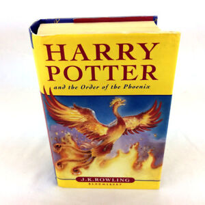 Harry Potter And The Order Of The Phoenix Book HC Bloomsbury 1st