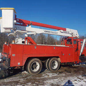 SIMON TELELECT T5051-65 BOOM  UTILITY BODY
