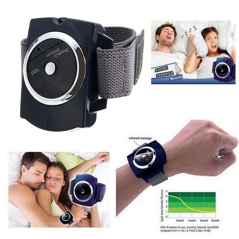 Snore Blocker Stopper Wristband intelligent Anti-Snore Stop