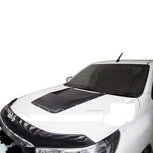 FIT 15 16 TOYOTA HILUX REVO PICK UP HOOD BONNET SCOOP WITH ARTIFICIAL NUTS