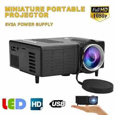 UC28C Mini Portable Family LED Micro/Mobile Phone Video Projector Home Theater
