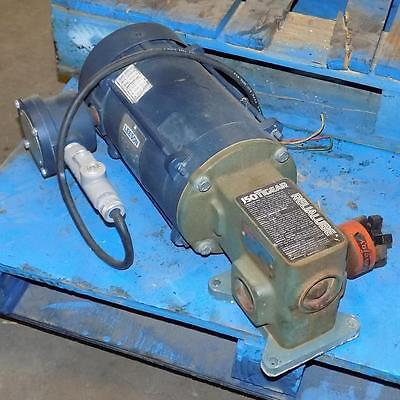 Leeson 1.5hp Motor A6t17xc24f W Dodge Size-ratio 56150-5 Gear Box Mr94742 D Vu