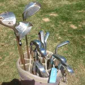 Ladies golf bag and clubs for sale