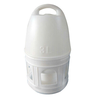 1X(Removeble White Plastic Drinker With Handle For Pigeons Bird Supplies 29 6D4)