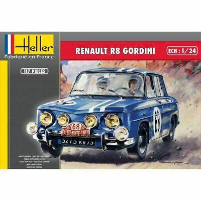 NEW Heller (80700): Renault R8 Gordini au 1/24