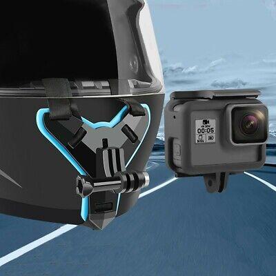 Action-Kamera Motorrad Helm Kinn Halterung Gurt Gürtel Für GoPro-Hero 7/5 XiaoYi
