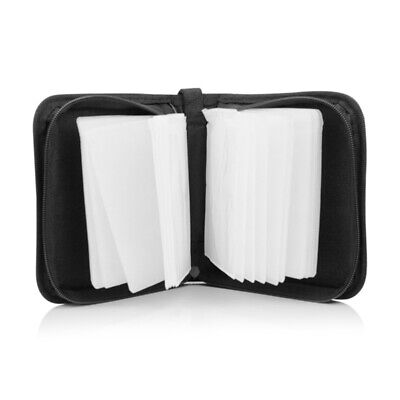40Disc CD Holder DVD Case Storage Wallet VCD Organizer Faux Leather Bag durable for sale  Shipping to Canada