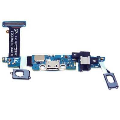 Flex Cable Conector de Carga para Samsung Galaxy S6 SM-G920F Usb Dock...