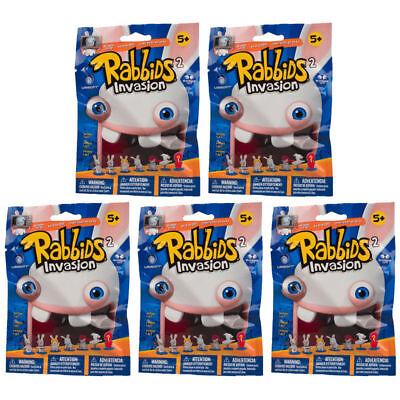 McFarlane Raving Rabbids Mini Figures Series 2 BLIND PACKS (5 Pack - Blind Packs