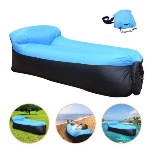 Portable Inflatable Lounger Air Sofa Chair Hammock Water Proof Air Chair Camping