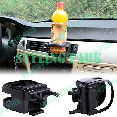 Car Stand Bottle Water Glass Drink Cup Holder Air Condition Vent Mount Clip Hook