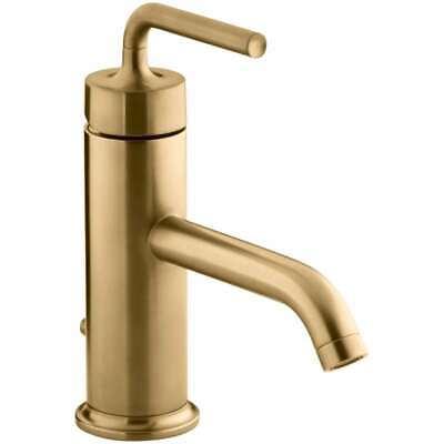 KOHLER  14402-4A-BGD Purist 1-Hole Single Handle Low-Arc Bathroom Brushed Gold