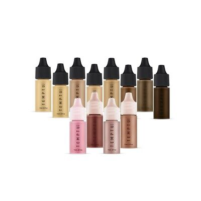 TEMPTU Best Selling Airbrush Makeup Basics Set Foundation, Blush &