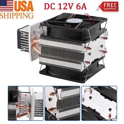 New 12v Thermoelectric Peltier Refrigeration Cooling System Kit Cooler Wfan Oz
