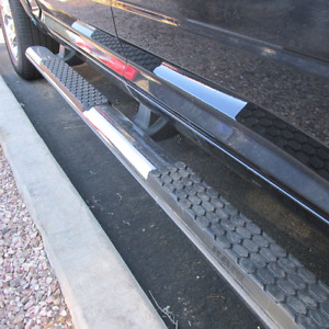 Mopar RAM side steps for Crew Cab 1500/2500/3500. 2013 to 2017