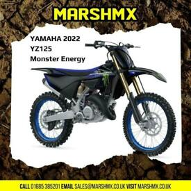 Yamaha YZ 125 2022 Monster Edition-Yamaha 6Mths Warranty-Nil Deposit Finance