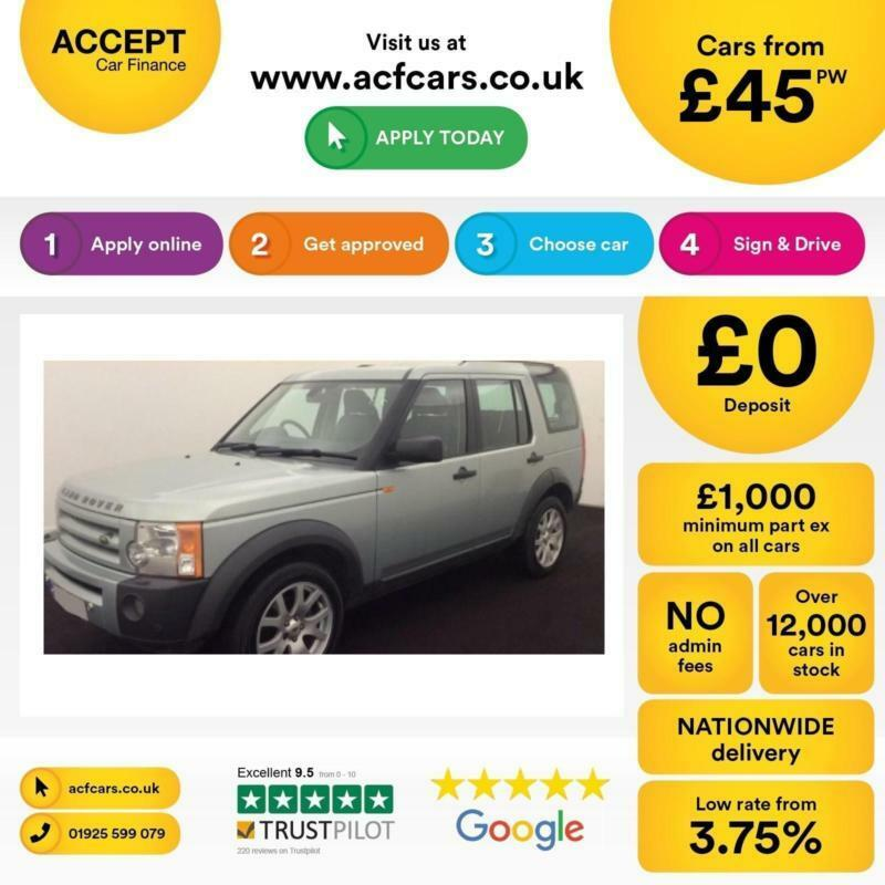 Land Rover Discovery 3 2.7TD V6 auto 2008MY SE FROM £45 PER WEEK!