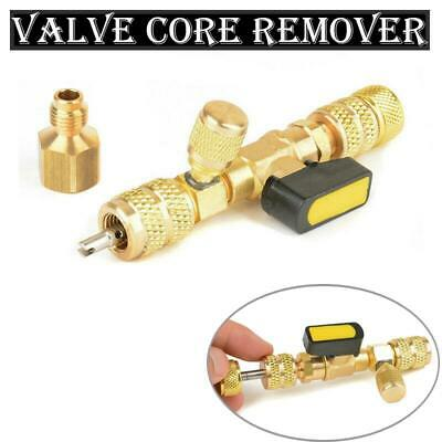 Valve Core Disassembly Wrench Remover Without The Loss Of Refrigerant Fluid