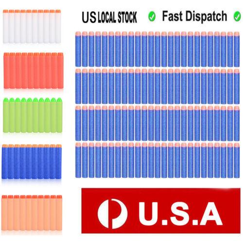 100/500/1000PCS Refill Blaster Bullet Foam Darts for Nerf El