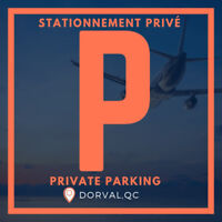 STATIONNEMENT PRIVÉ AÉROPORT/ AIRPORT PRIVATE PARKING