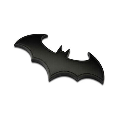 Car SUV 3D Black Chrome Batman Emblem Sticker Badge For Rear/Trunk/Body/Fender
