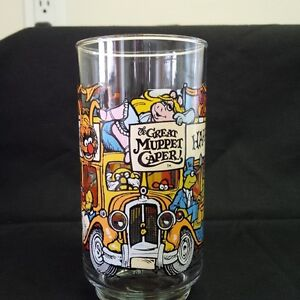 McDonalds Great Muppet Caper Glasses  1981 Kitchener / Waterloo Kitchener Area image 7