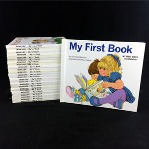 My First Steps To Reading Books Complete Set A-Z Moncure