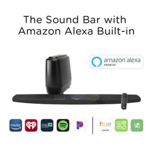 Polk Command Bar home theater system with Amazon Alexa Built-in