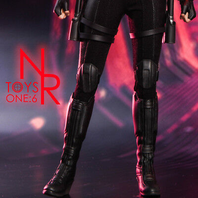 1/6 Black Widow Combat Boots For 12