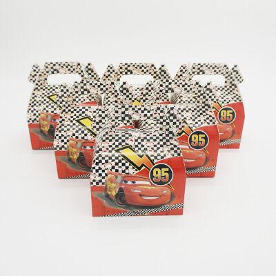 Car Themed Baby Shower (6pcs/lot Candy Box Cake Box for Kids Cars Theme Party Baby Shower Party)