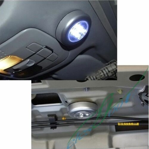 3 led battery power stick light lamp car interior bedside tap touch night light ebay